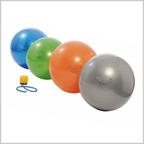 gymnastikball rfm 75 cm blau metallic gymnastikball. Black Bedroom Furniture Sets. Home Design Ideas