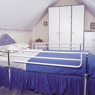 bettseite seitengel nder f rs bett 1 paar. Black Bedroom Furniture Sets. Home Design Ideas