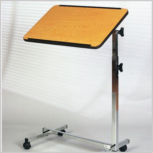 bett tisch rollbar h henverstellbar 68 115cm holzdekor. Black Bedroom Furniture Sets. Home Design Ideas