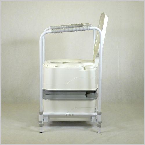 mobile toilette portap 165 ein komplettes set. Black Bedroom Furniture Sets. Home Design Ideas